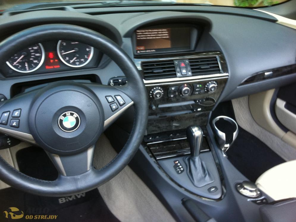 Autoodstrejdy - BMW 645 CI-půjčen do 13.9
